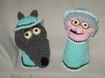 Grandma and Big Bad Wolf Puppets