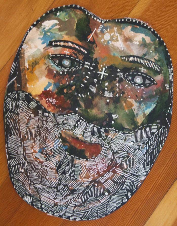 Face of Jesus (Todd's very own Veronica De Jesus)