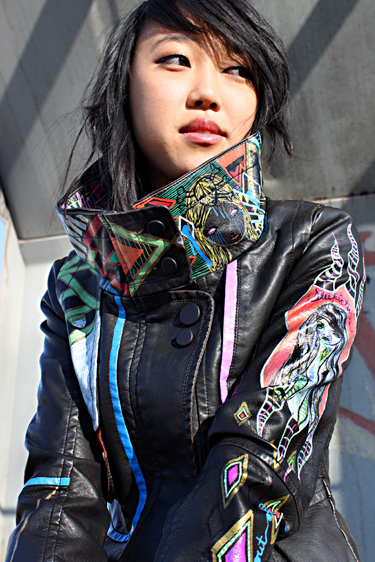 Oh my hell I WANT this jacket by Teresa Flowers