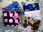 Zipper Pouches and Biz Card Holders by Sorry Clementine
