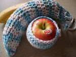 Apple and Banana Cozy by BeadlesandPins