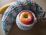 Apple and Banana Cozy by BeadlesandPins