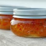 Apricot Jalepeno Jelly by Mirasolfarm