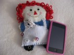 Raggedy Ann iPod Cozy by Keilantra