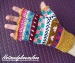 Fingerless glove - hatsnglovesyoulove