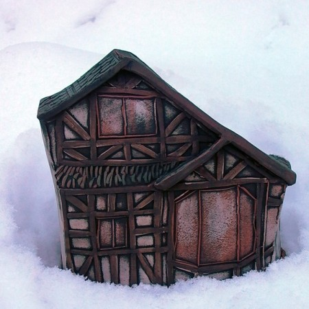 Tudor Miniature House