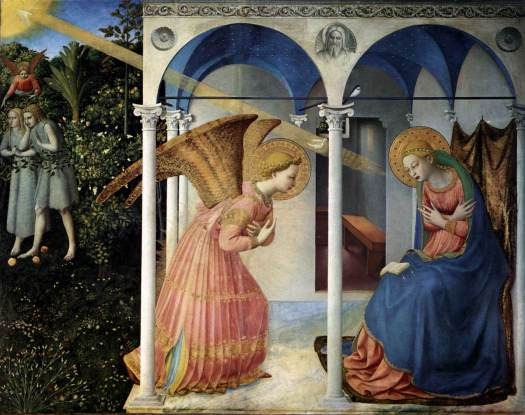 """The Annunciation"" by Fra Angelico"