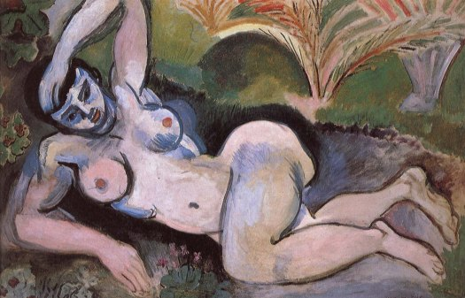 """""""The Blue Nude"""" by Henri Matisse, 1907"""