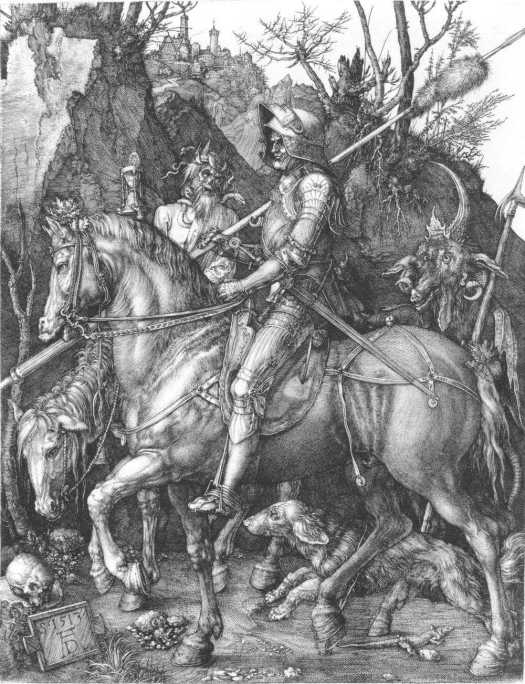 """""""Death, Knight and the Devil"""" 1513"""