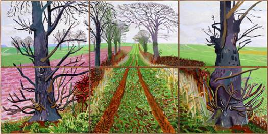 David Hockney's 'A Bigger Picture' Exhibition at London's Royal Academy of Arts Seeing the Wood for the Trees