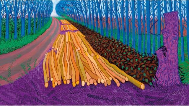 Hockney-more-felled-trees-near-woldgate-2008