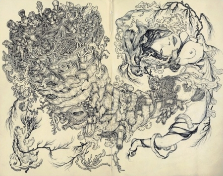 Tumor - by James Jean