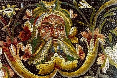 Acheloos,_detail_of_roman_mosaic