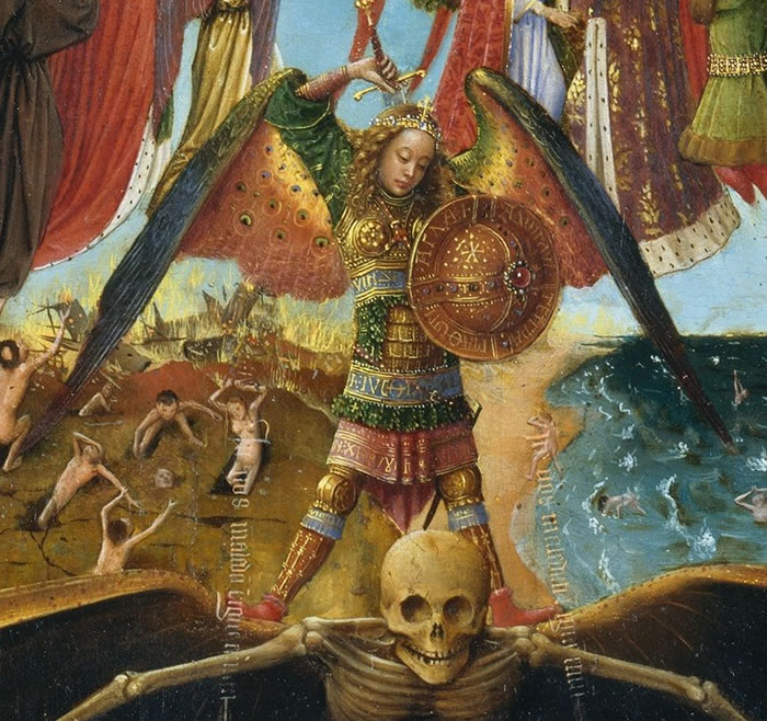 """Last Judgement"" detail"