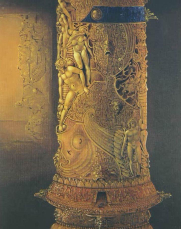 Atlan Column of the World