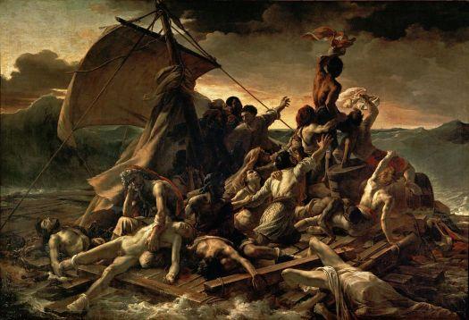 """Raft of te Medusa"" by Jean Louis Théodore Géricault"