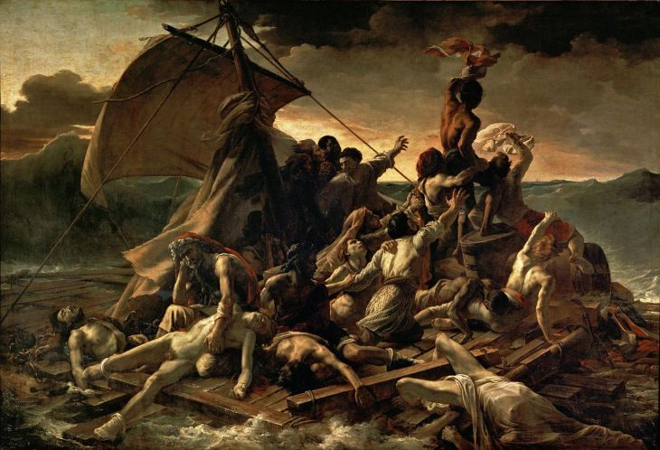 """Raft of te Medusa"" by Jean Louis Théodore Géricault"