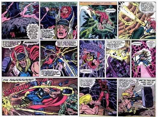 Thor VS Celestial