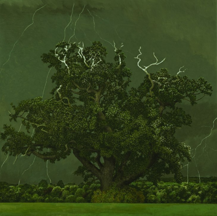 """Oak Tree"" - David Inshaw"
