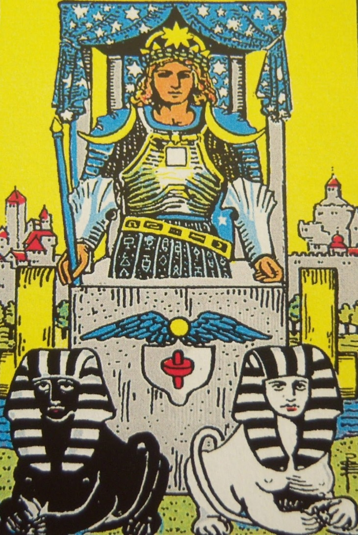 """The Chariot"" - Rider / Waite Tarot"
