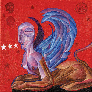 """Sphinx"" by Todd Powelson"