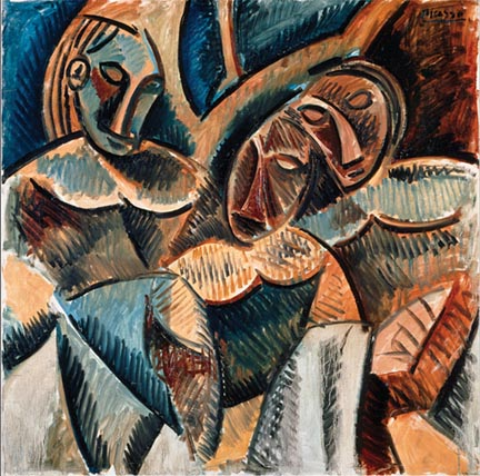 """""""Three Figures Under a Tree"""" by Pablo Picasso"""