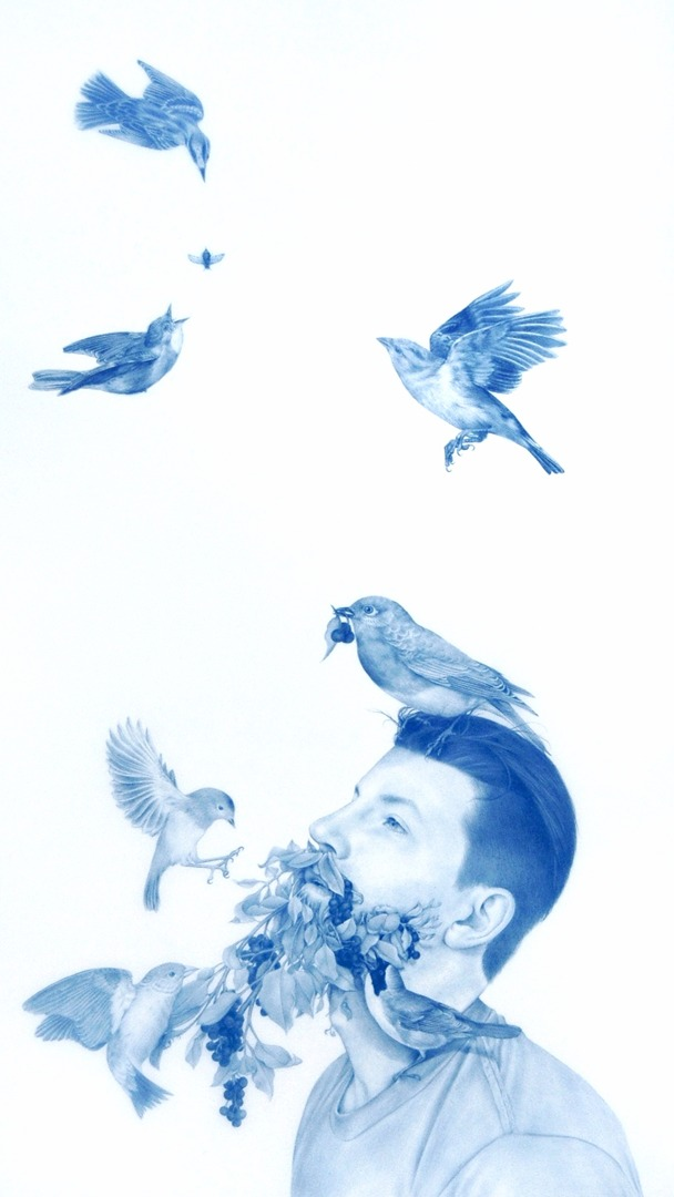 """Feeding 2"" by Zachari Logan"