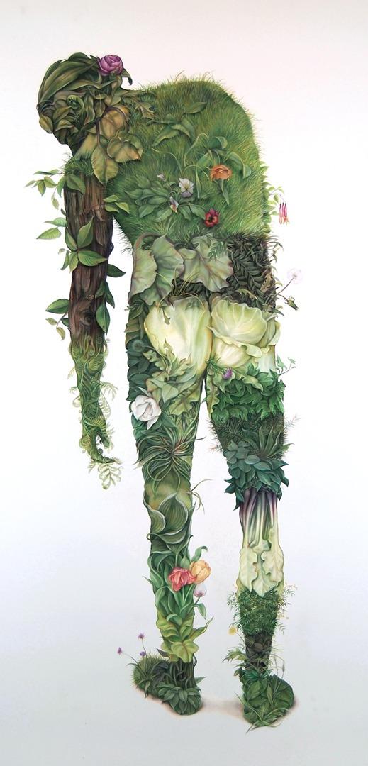 """Green Man"" by Zachari Logan"
