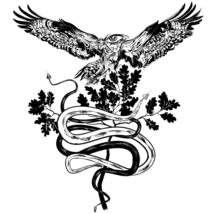 """Western Caduceus"" by Todd Powelson"