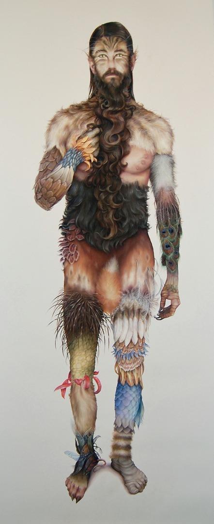 """Wild Man"" by Zachari Logan"