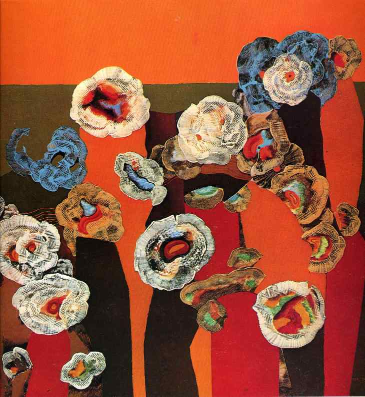 """Flowers of Seashells""  by Max Ernst, 1929"