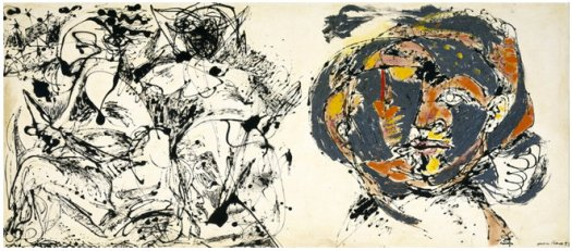 """Portrait and a Dream"" by Jackson Pollock, 1953"