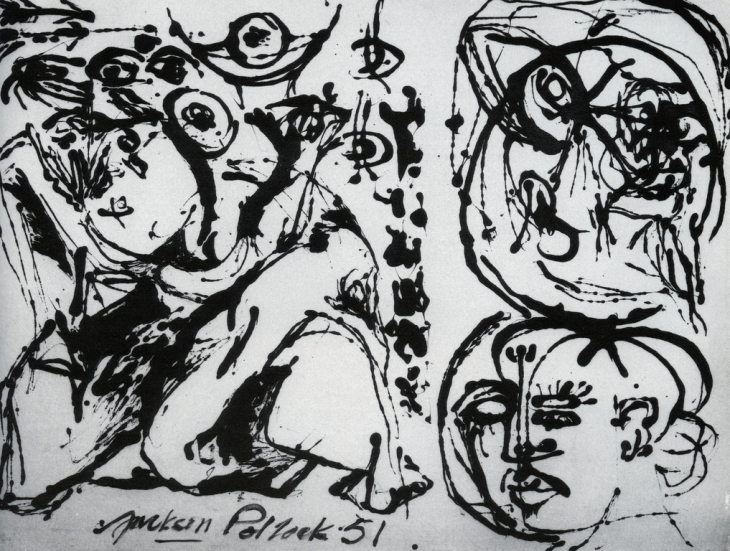 """Number 27"" by Jackson Pollock, 1951"