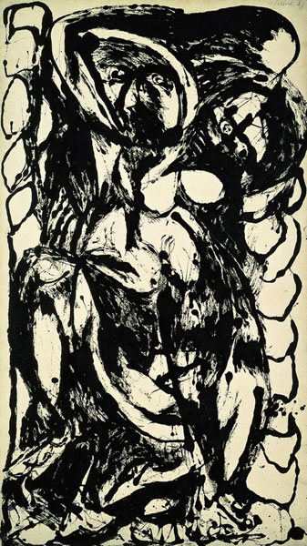"""Number 5"" by Jackson Pollock, 1952"