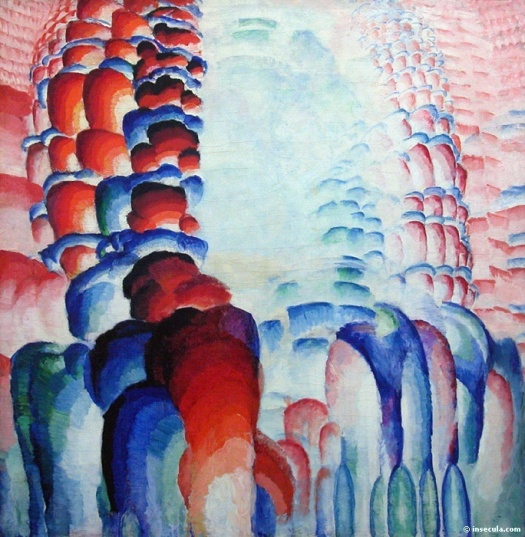 """""""Hindu Motif or Graduated Red"""" 1921"""
