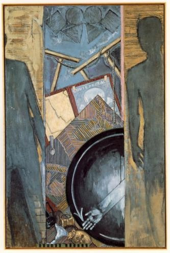 """Fall"" by Jasper Johns, 1986"