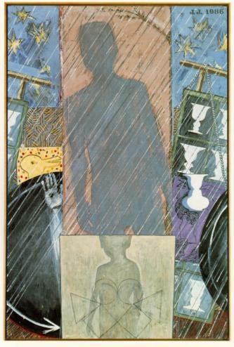 """Spring"" by Jasper Johns, 1986"