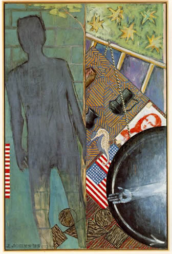 """Summer"" by Jasper Johns, 1986"