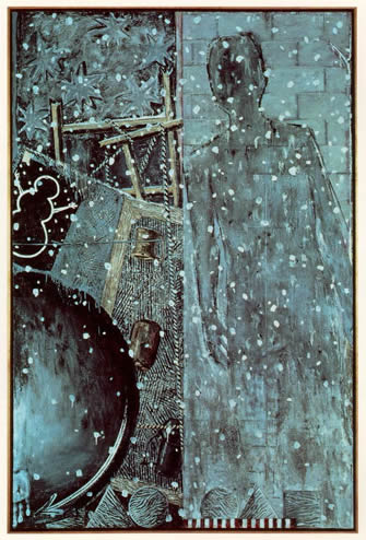 """Winter"" by Jasper Johns, 1986"