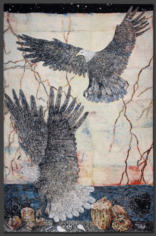 """Guide"" by Kiki Smith, 2013"