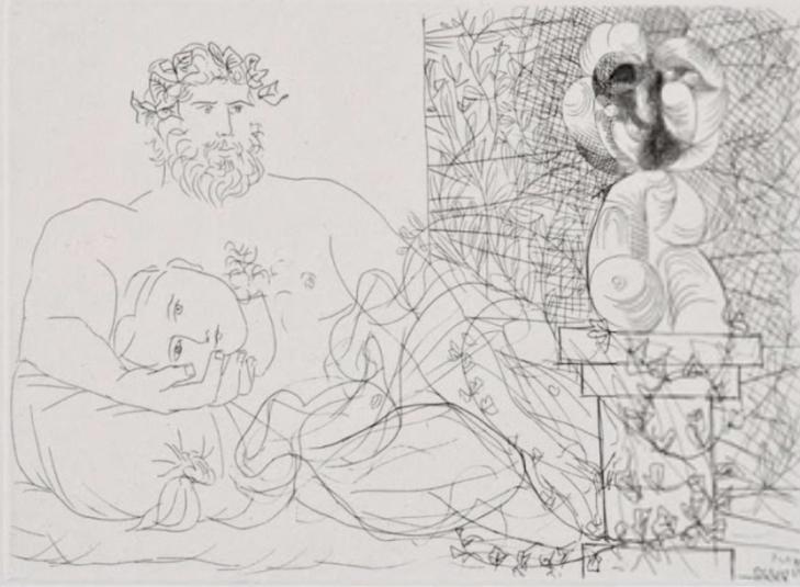 Le Repos du Sculpteur et la Sculpture Surréaliste , 1933
