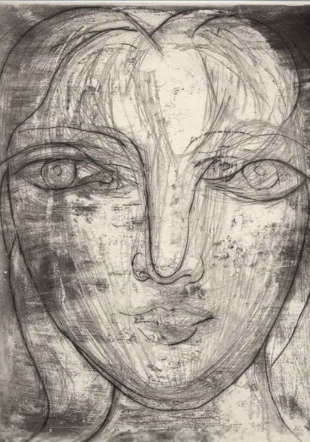 Portrait de Marie-Thérèse de Face, 1934