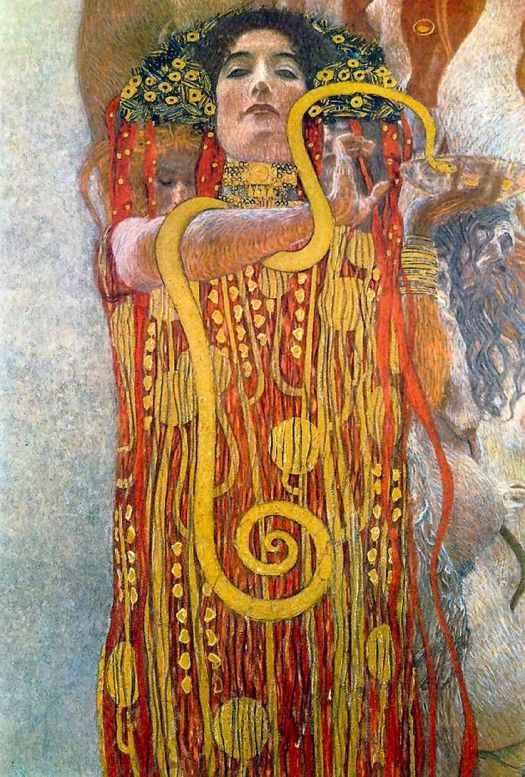 """""""Hygeia"""" by Gustav Klimt"""