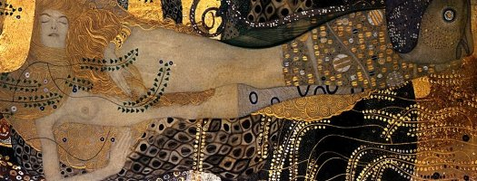 """Water Serpents I"" by Gustav Klimt"