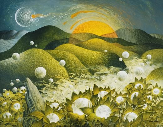 """Birthplace of the Moons"" by Ainslie Roberts"