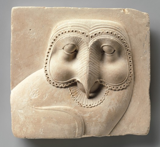Owl Relief Plaque