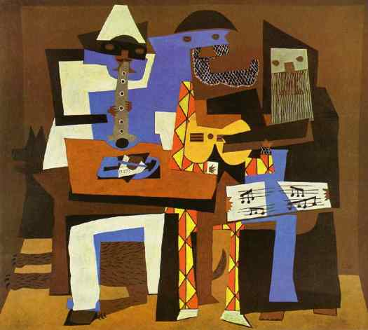 """Three Musicians"" by Pablo Picasso"