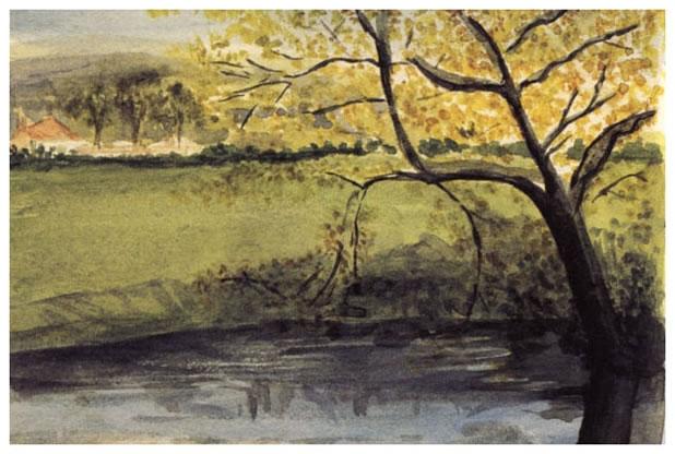 """""""Alder by a Stream"""" by J.R.R. Tolkien"""