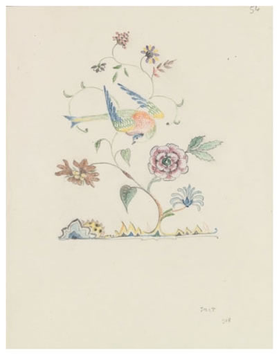 """Bird in a Flowering Tree"" by J.R.R. Tolkien"
