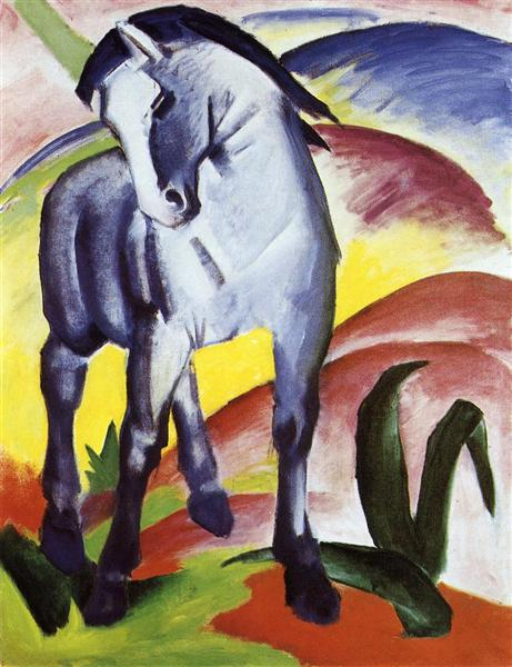 """Blue Horses""  by Franz Marc"